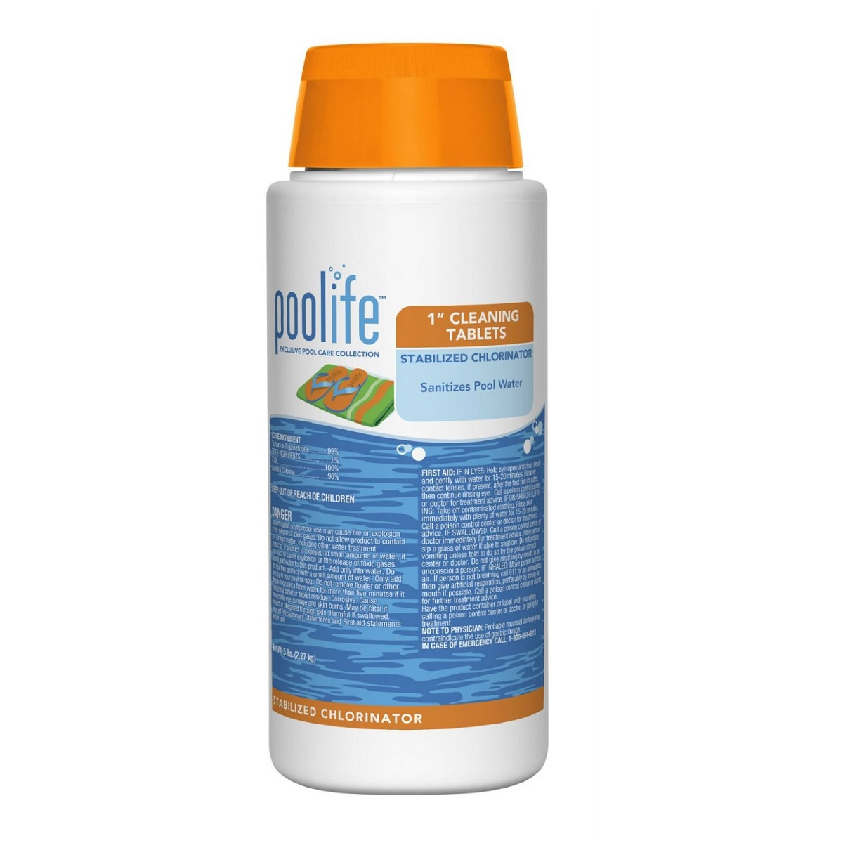 Poolife 174 1 Quot Cleaning Tablets Stabilized Chlorinator