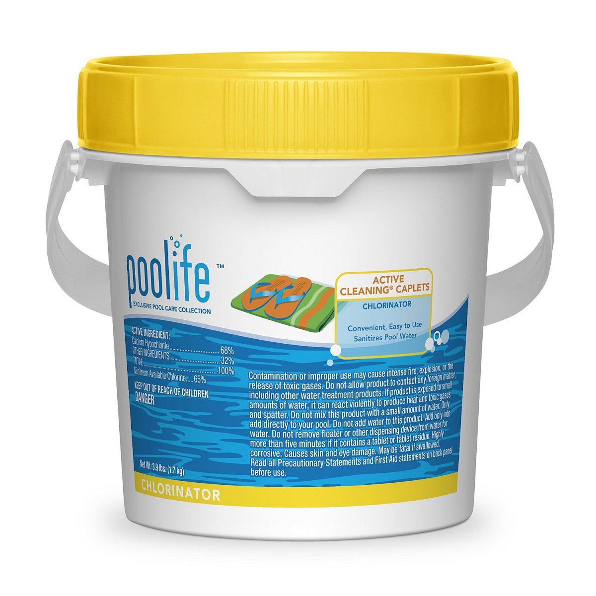 Poolife active cleaning caplets chlorinator brazos for Easy care pool products