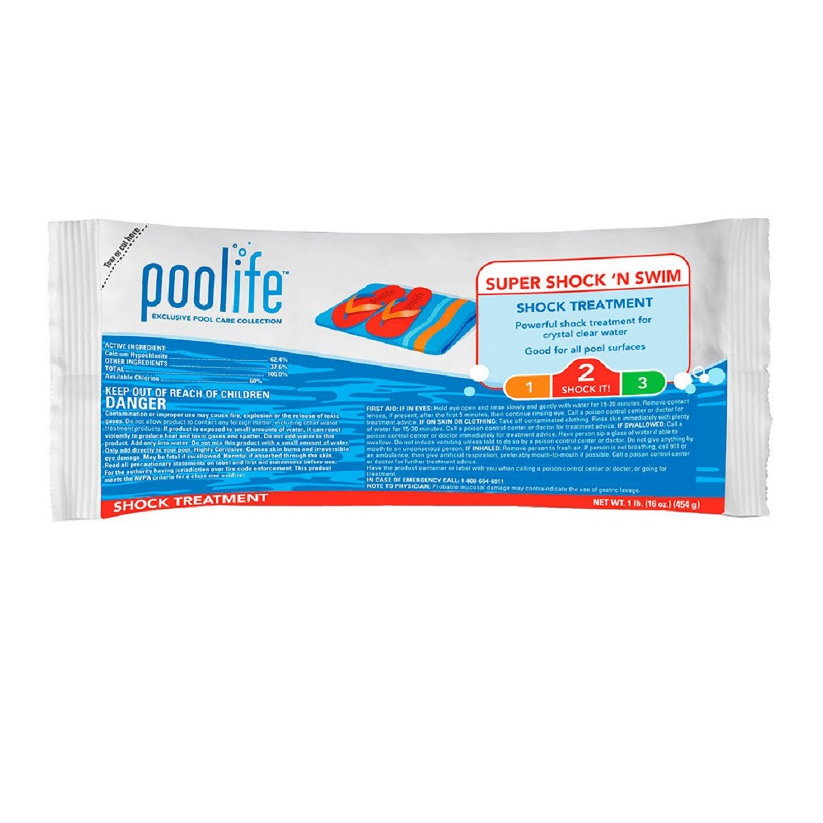 Poolife super shock 39 n swim brazos valley pool and hot tubs - Pool shock how long before swimming ...